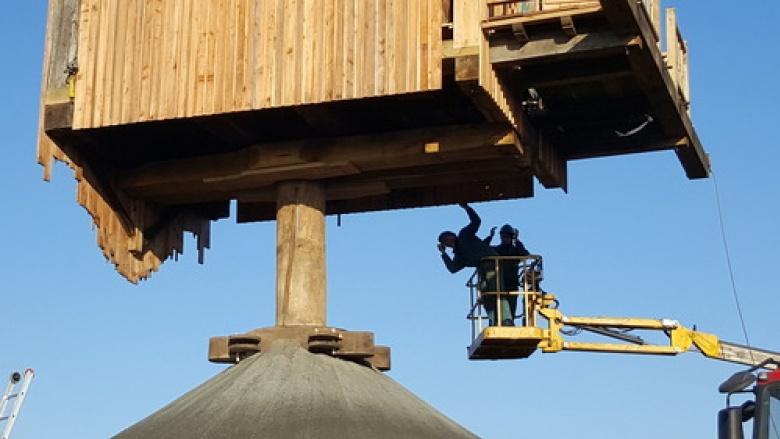 Restaurierung der Düppelsmühle in Titz fast abgeschlossen