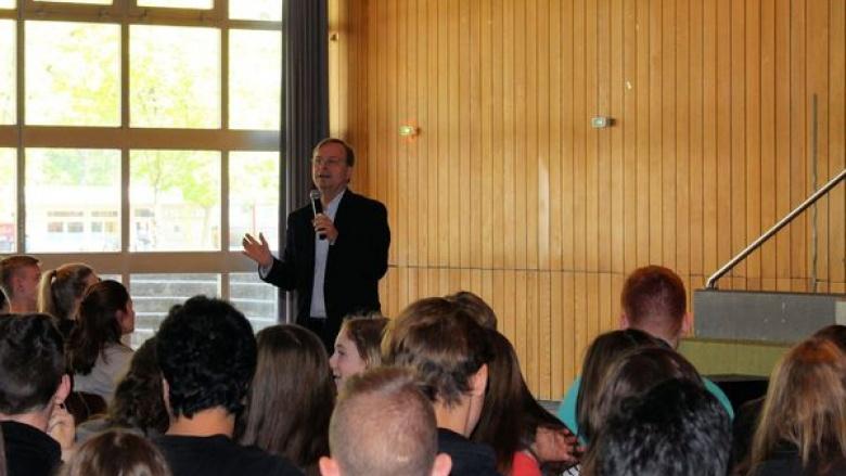 EU-Projekttag am Burgau-Gymnasium