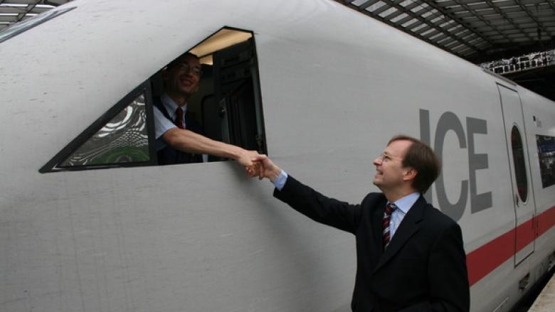 Erhöhung der Streckengeschwindigkeit auf der Eisenbahnstrecke Aachen-Düren