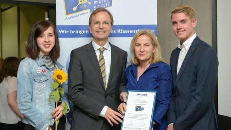 """""""Europa macht in Langerwehe Schule"""""""