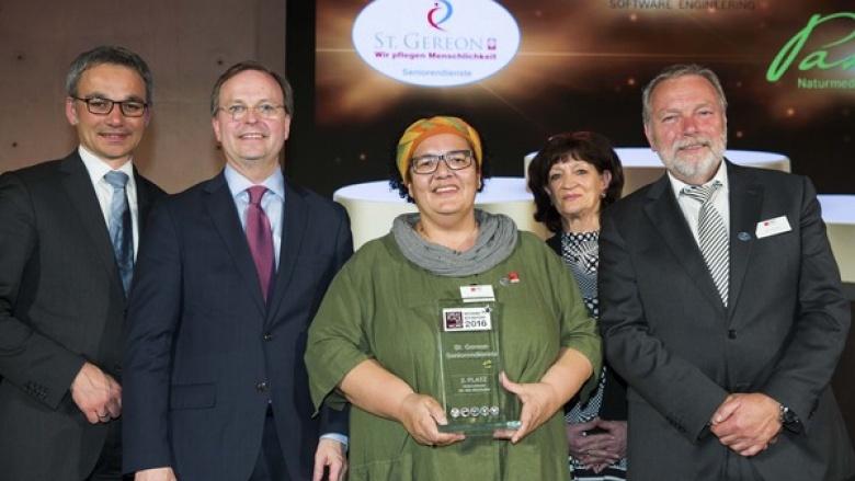 Hohe Auszeichnung für St. Gereon Seniorendienste in Linnich
