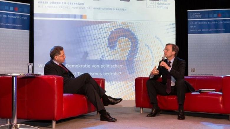 Thomas Rachel MdB und Verfassungsschutzpräsident Dr. Hans-Georg Maaßen