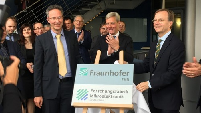 Startschuss für Forschungsfabrik Mikroelektronik Deutschland am Fraunhofer FHR
