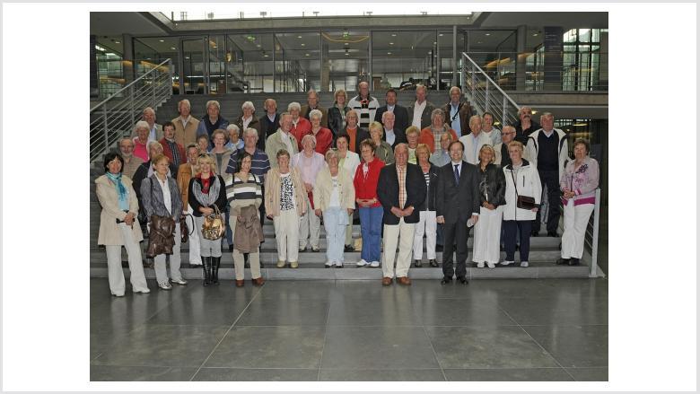 Merkener besuchten Thomas Rachel MdB in Berlin
