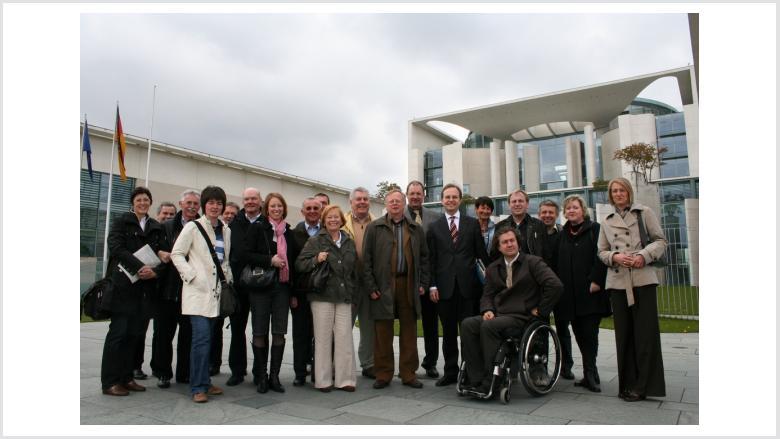 Mittelständler zu Gast in Berlin