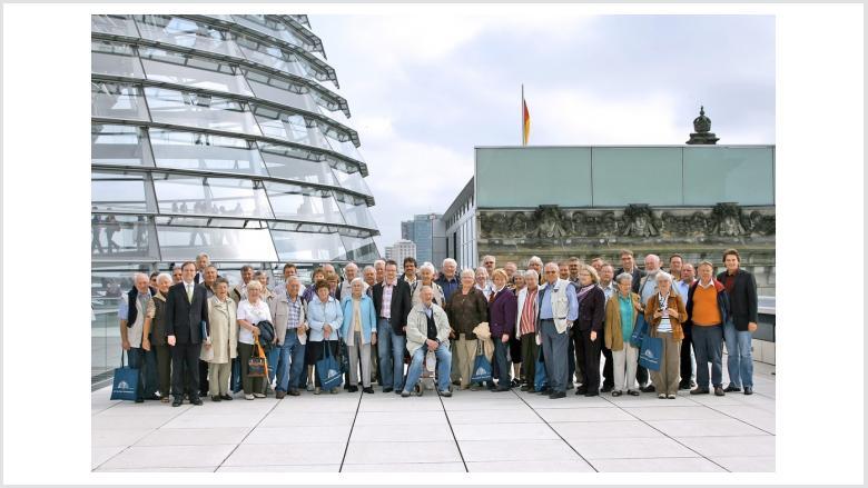 Ehrenamtler aus dem Kreis Düren zu Besuch in Berlin