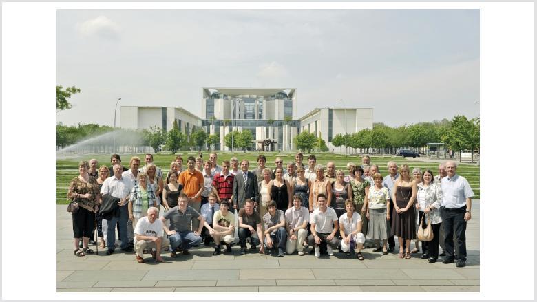 50 Ehrenamtler aus dem Kreis Düren zu Besuch in Berlin