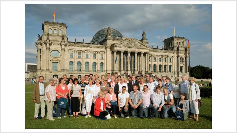 Rachel lud 50 Ehrenamtler nach Berlin ein