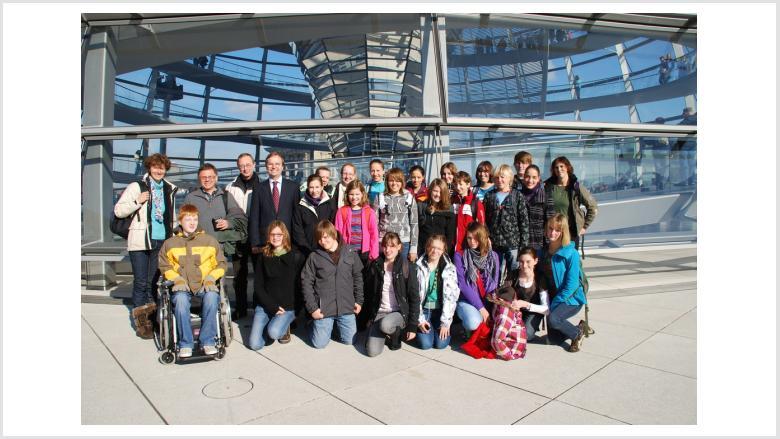 Jugendchor St. Anna und St. Marien erkundet Berlin