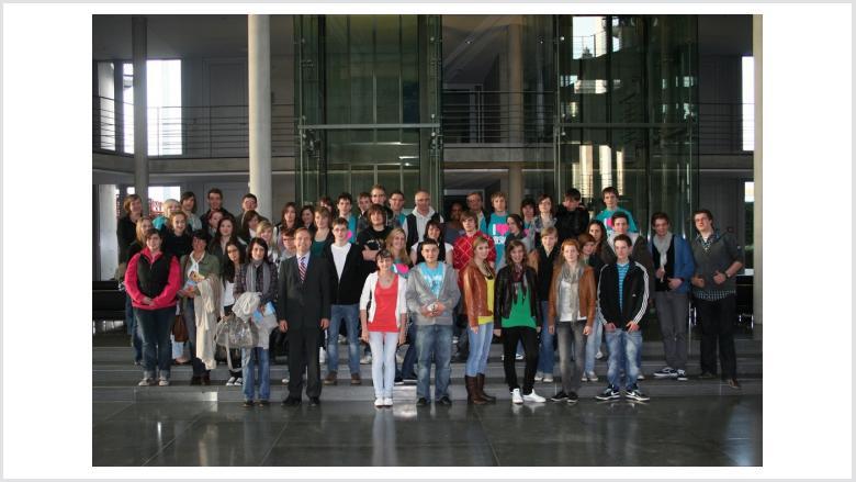 Die Käthe-Kollwitz Realschule besucht erneut den Deutschen Bundestag