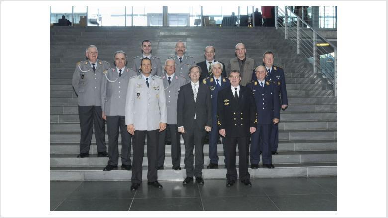 Reservistenverband zu Besuch in Berlin