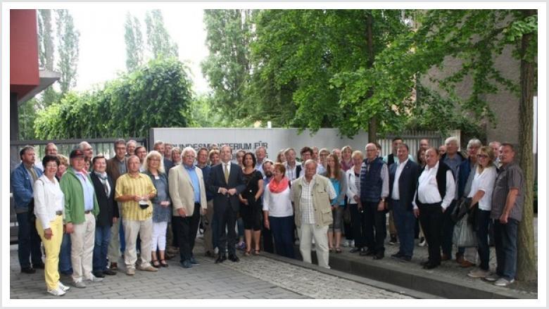 Thomas Rachel MdB begrüßt Bürger aus Nideggen und Titz im Bundesministerium für Bildung und Forschung
