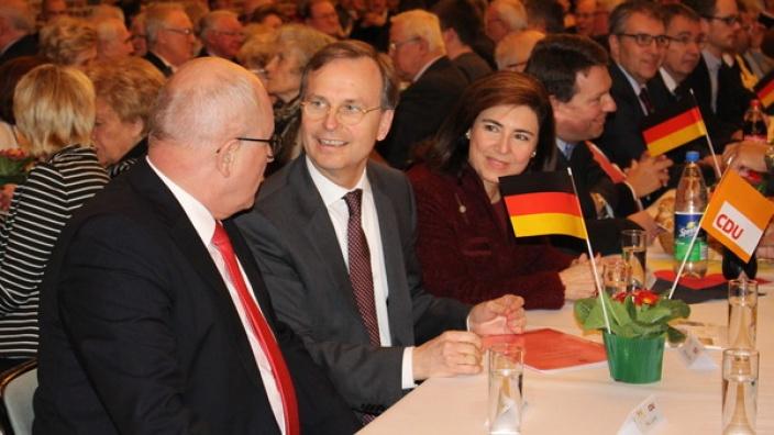 CDU-Neujahrsempfang mit Volker Kauder MdB