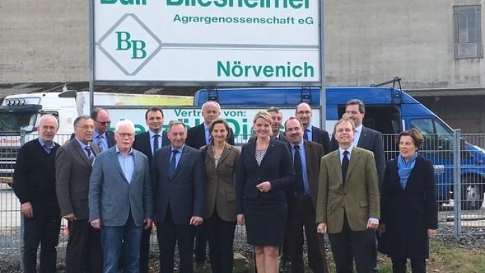 CDU-Agrarausschuss zu Gast bei der Buir-Bliesheimer AG