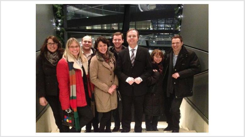 Projektgruppe E-Government bei Thomas Rachel MdB in Berlin