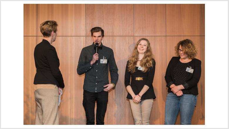 Tabea-Marie Breitkreutz, Maren Fasterding und Daniel Müller drehten ihren Film in Russland.