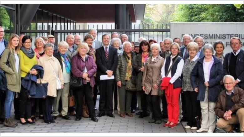 Senioren-Union erlebt mit Thomas Rachel MdB deutsch-deutsche Geschichte in Berlin