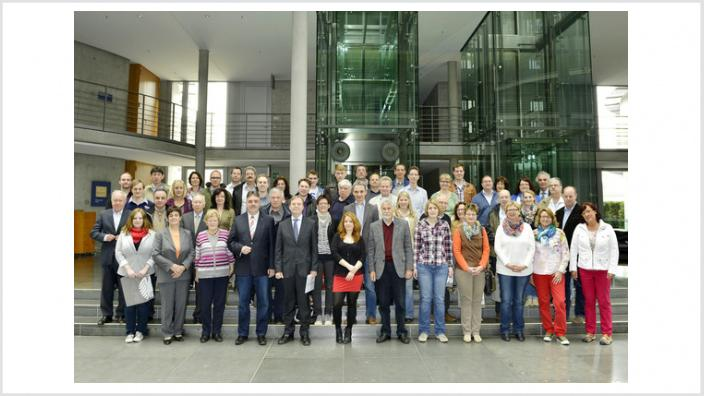 Gäste aus dem Kreis Heinsberg erleben Bundestag hautnah
