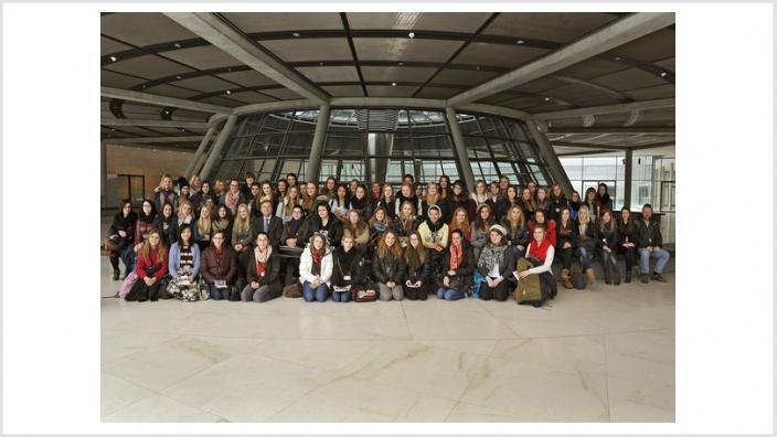 Thomas Rachel MdB: Schülerinnen der Europaschule Mädchengymnasium Jülich zu Besuch in Berlin