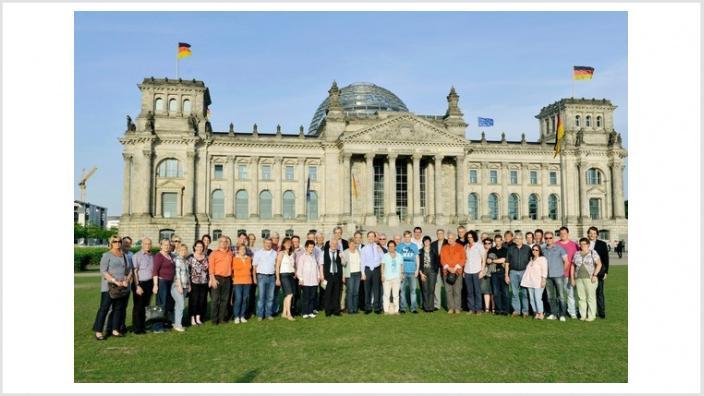 Ehrenamtler zu Gast in Berlin