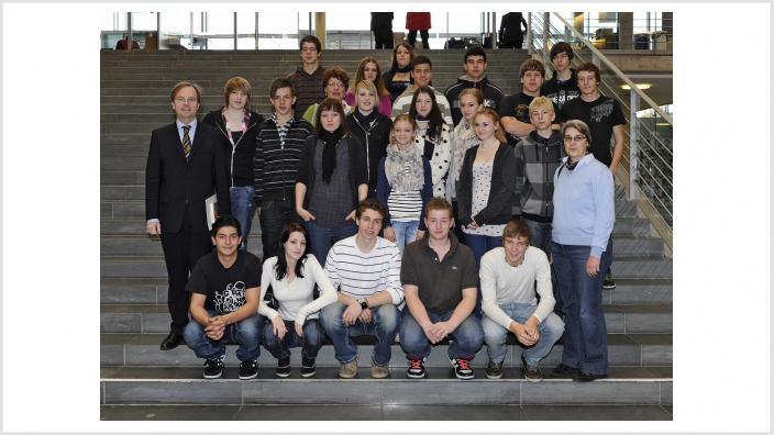 Bleibende Eindrücke vom Bundestagsbesuch der Realschule Hürtgenwald